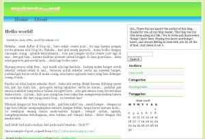 my blog design screenshot