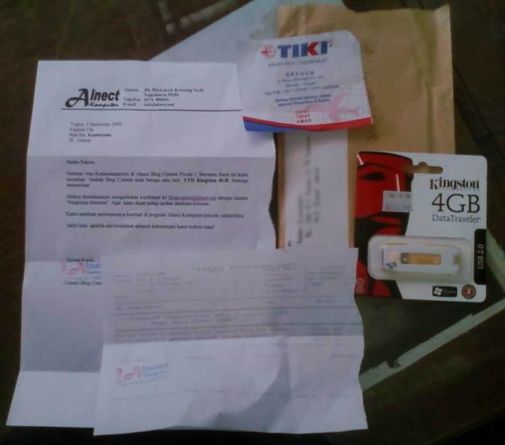 paket Hadiah kontes